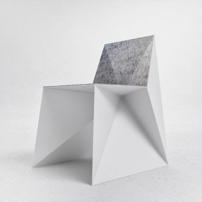 OrigamiInspired Chairs  Origamiinspired Chair