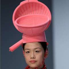 Kitchen Hats Sink Kit Plastic Container Headwear London College Of Fashion S