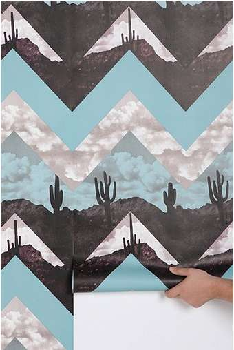 Graphic DesertInspired Decor  urban outfitters chevron