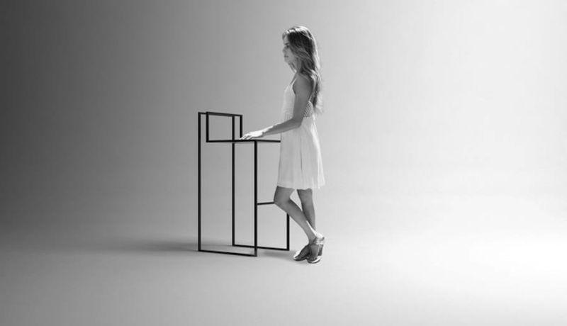Ultra Minimalist Furniture  Urban Philosophy Chair