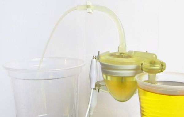 Urine-Powered Robots