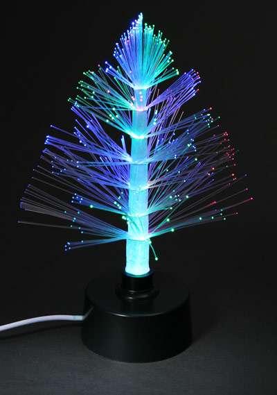 Shimmering Christmas Trees USB Fibre Optic Christmas Tree