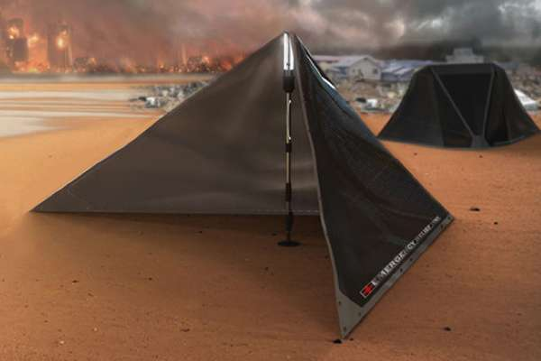Solar Disaster Shelters V Plus Emergency Relief Tent