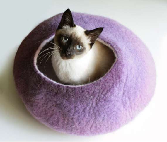 Wool Kitty Nests  vaivanat