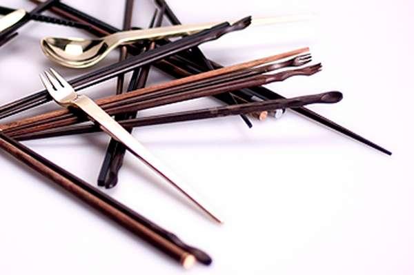 good kitchen knife set layout design multifunctional asian cutlery : vera wiedermann chopstick ...