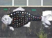 Recycled Vinyl Wall Art : vinyl wall art