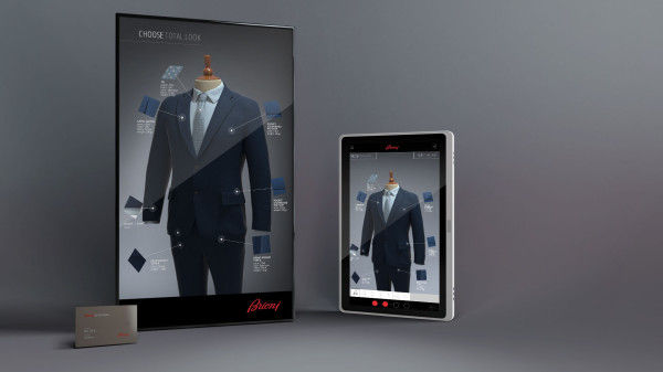 Interactive Tailoring Mirrors  virtual mirror