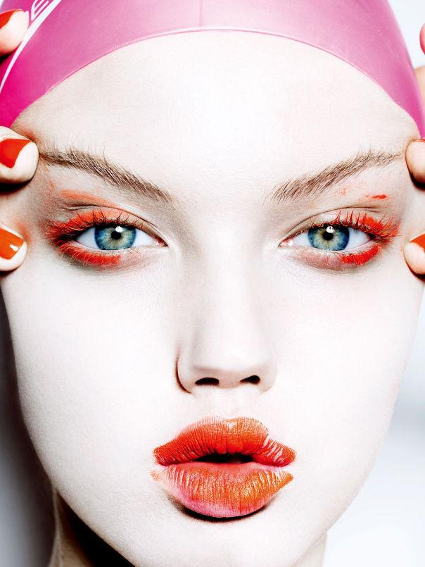 Magnetic Makeup Editorials Vogue Japan November