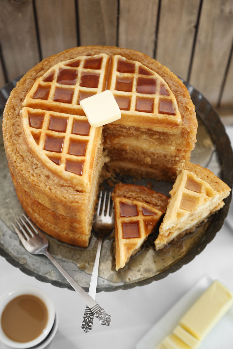 Hybrid Waffle Cakes  waffle cake