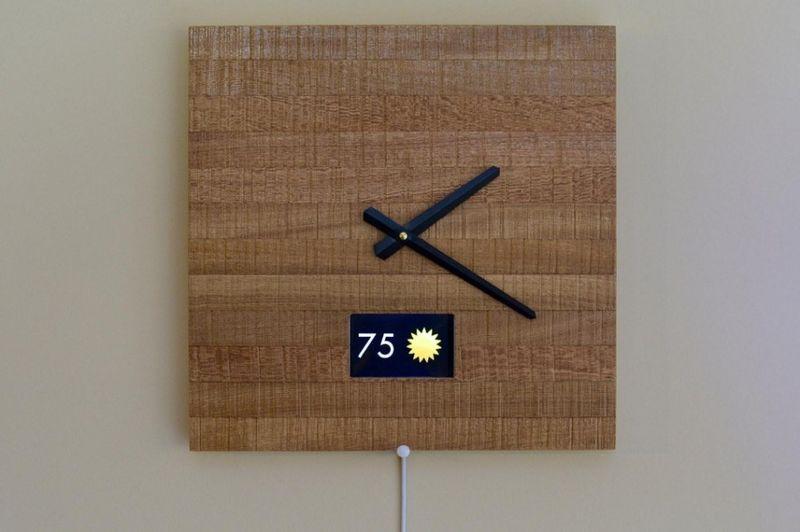 Notifying Smart Clocks Wall Clock Design