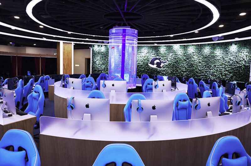 HighEnd Internet Cafes  Wangyu eSports