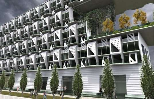 Plaited Prefab Apartments