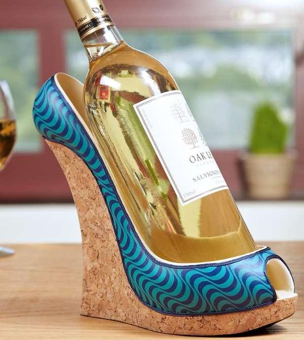 Foot Fetish Wine Racks  wine bottle holder