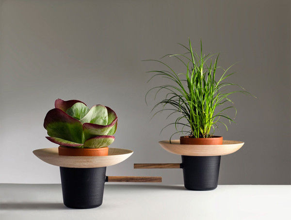 Upcycled Wooden Plant Pots Wooden Plant Pots