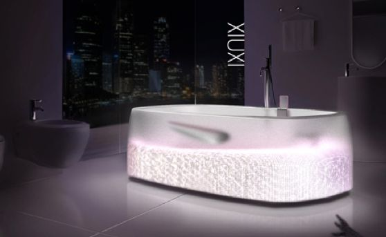 HiTech Translucent Tubs  Xiuxi Bathtub