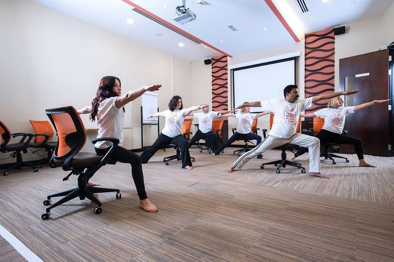Office Yoga Programs  yoga at work