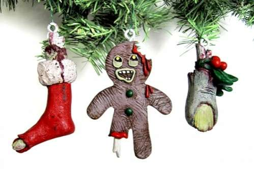 Scary Christmas Ornaments