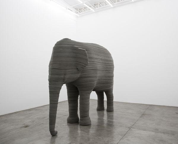 Cushy Abstract Animal Art  zoo animal sculptures