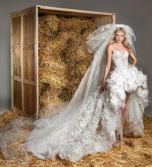Rustic Wedding Dress Lookbooks Zuhair Murad Spring 2015