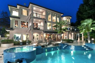modern mansion mansions luxury mega court cheap
