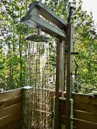 Rustic Outdoor Showers - Bing images