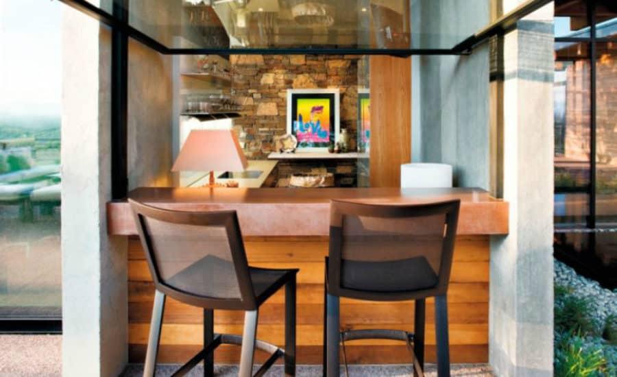 black sink kitchen countertops las vegas 23 creative outdoor wet bar design ideas