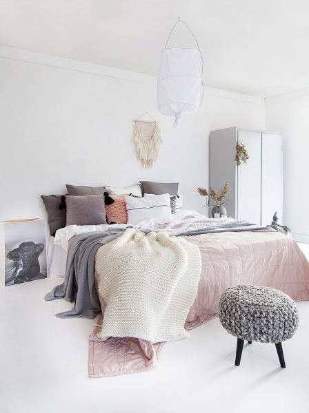 scandinavian bedroom design grey 25 Scandinavian Interior Designs to Freshen up Your Home