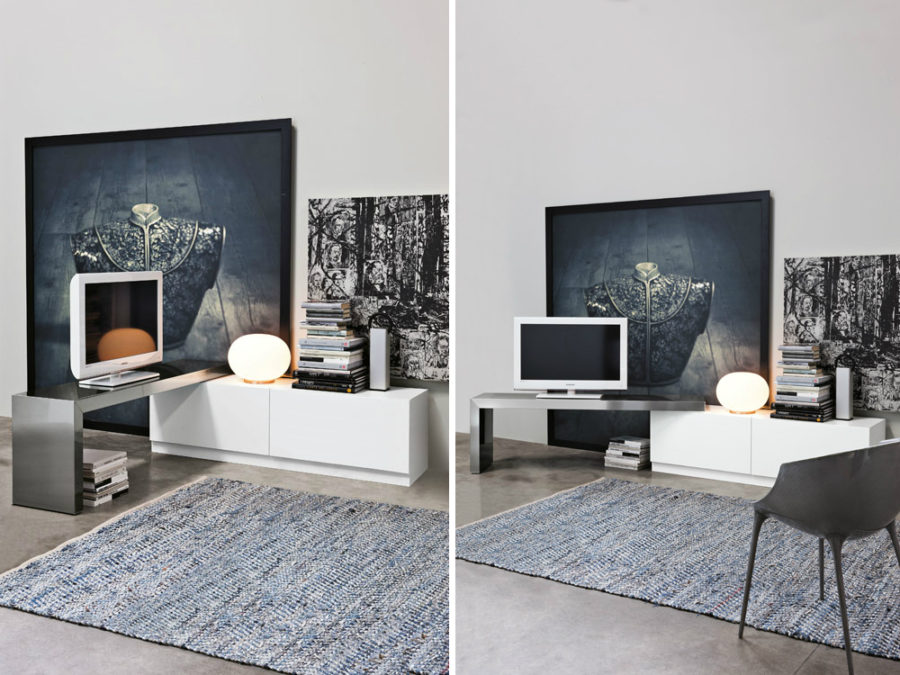sleek tv unit design for living room wall paint 2018 44 modern stand designs ultimate home entertainment view in gallery 360 by ronda