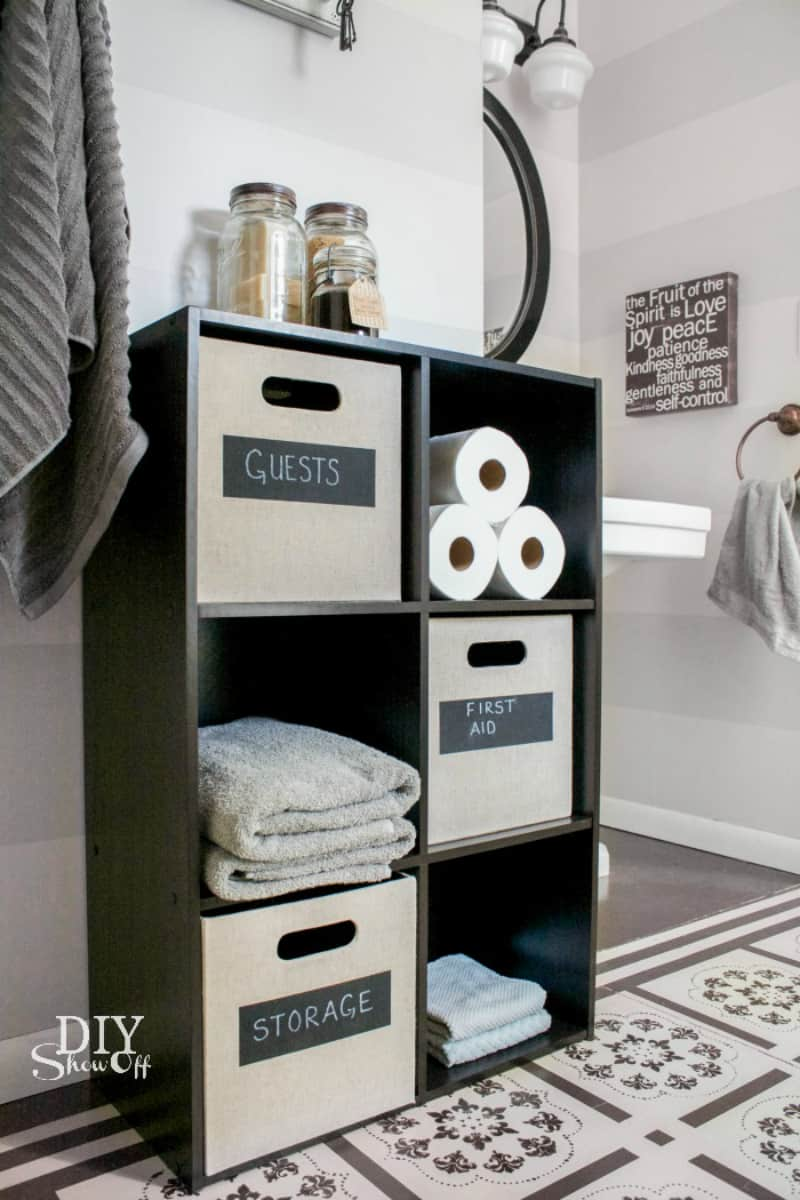 kitchen wall decor ideas delta talbott faucet 25 creative ways to use cube storage in