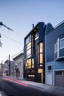 Modern Apartment Buildings San Francisco