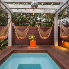 White Bohemian Hanging Chair Sun Lounge Chairs Target Luxury Pool For A Summer Oasis