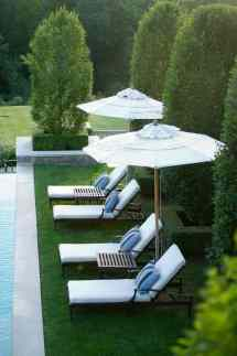Luxury Pool Chairs Summer Lounge Oasis
