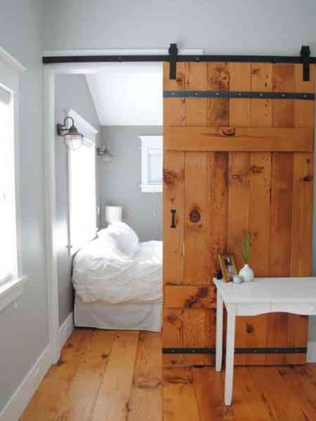 rustic bedroom closet doors Bring Some Country Spirit to Your Home With Interior Barn Doors