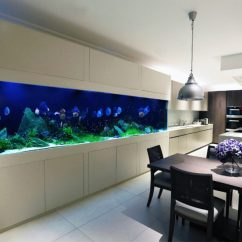 Pvc Lounge Chair Blue And A Half Recliner Amazing Built-in Aquariums In Interior Design