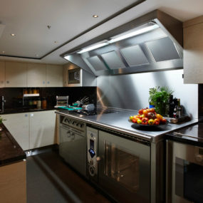 floors for kitchens unfinished oak kitchen cabinets best modern yacht interior designs