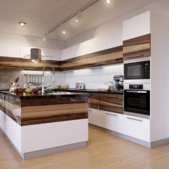 Two Tone Kitchen Island Hotels With Kitchens In Portland Oregon 35 Cabinets To Reinspire Your Favorite Spot The View Gallery Furniture Layer Solid Wood Mixed