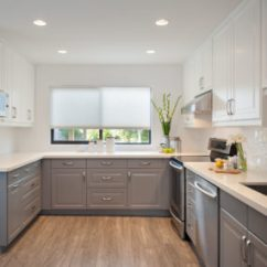Different Color Kitchen Cabinets Tiles Size 35 Two Tone To Reinspire Your Favorite Spot In The House