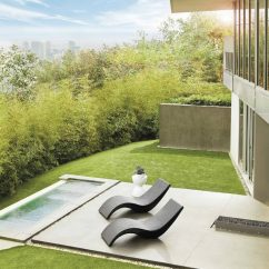 Deck Chair Images Osaki Os 4000 Massage Review 2 Ultra Modern Pool Lounge Chairs To Turn Your Backyard Into Retreat