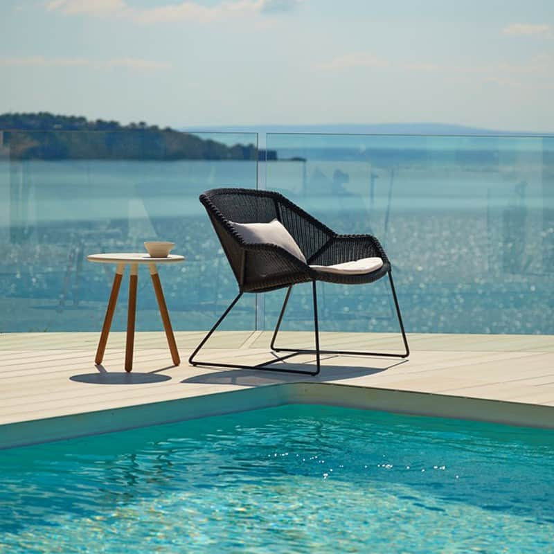 poolside lounge chairs wingback tufted chair ultra modern pool to turn your backyard into retreat view in gallery breeze