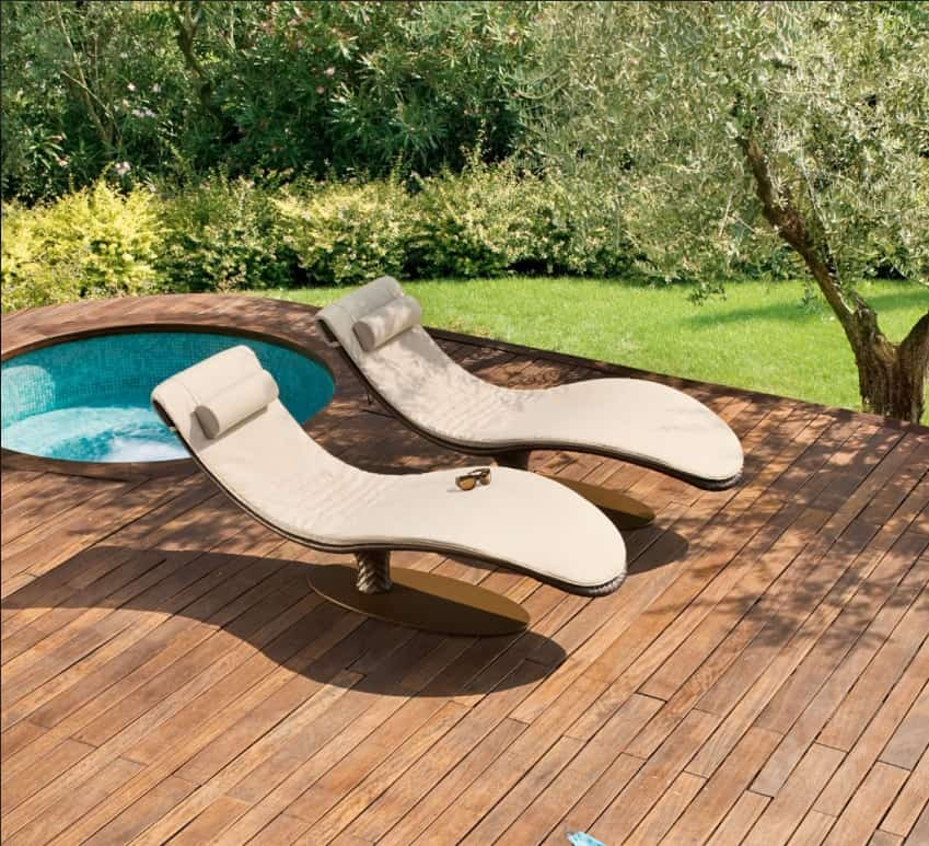 Ultra Modern Pool Lounge Chairs to Turn Your Backyard Into