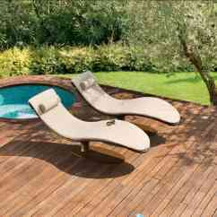 Poolside Lounge Chairs Stressless Chair Accessories Ultra Modern Pool To Turn Your Backyard Into Retreat View In Gallery Caribe