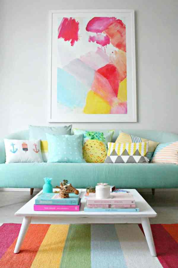 Turn Home Candy House With Pastel Colors