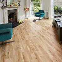 Wood Look Tile Living Room - Modern home design ideas