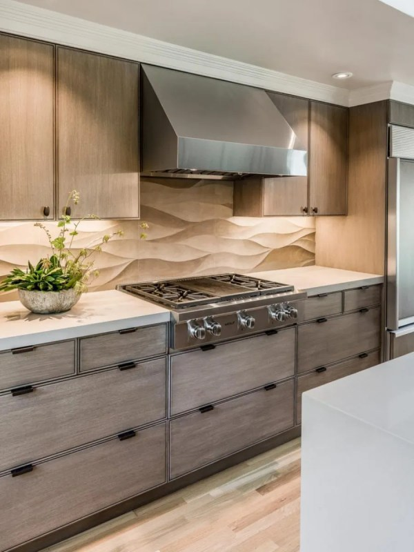Contemporary Kitchen Backsplash Tiles