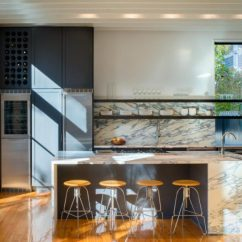 Modern Kitchen Backsplash Distressed Black Cabinets Ideas For Cooking With Style