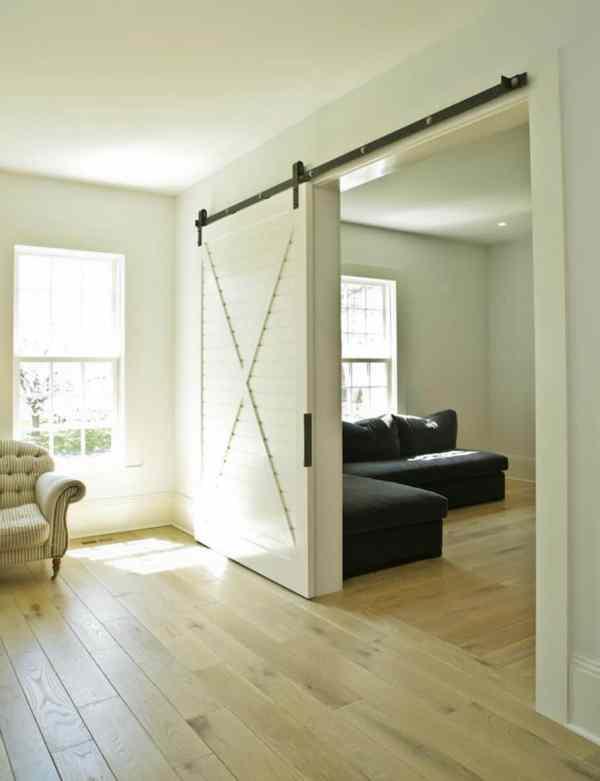 Sliding Barn Doors Living Room