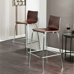 Kitchen Chairs Maple Table 30 With Modern Flair View In Gallery Blence Barstools Espresso 900x935