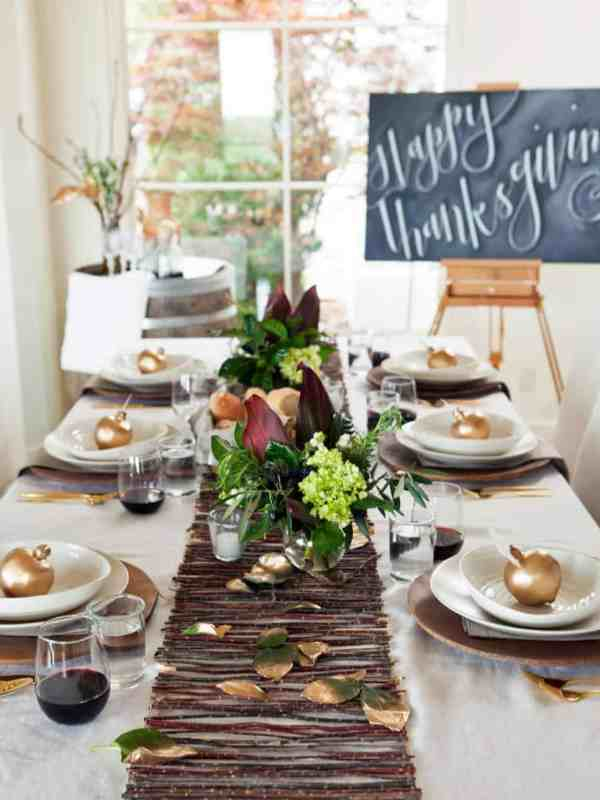 Modern Thanksgiving Table Settings Ideas