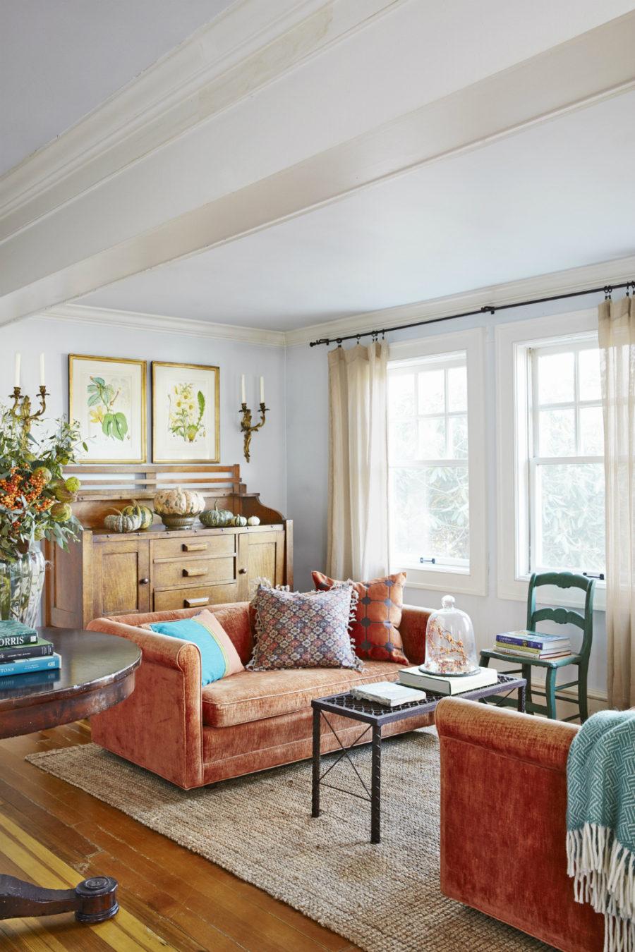 deep sofa couch bench seat cushion 'tis autumn: living room fall decor ideas