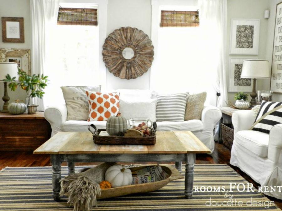 'Tis Autumn: Living Room Fall Decor Ideas
